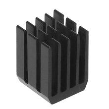 5Pcs/Set 9*9*12mm Aluminum Cooling Heat Sink Chip RAM Radiator Heatsink Cooler X6HB