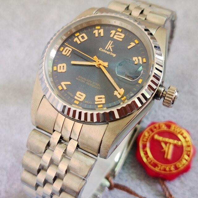 Ik 5ATM Diver Polshorloge Mannen Horloges Topmerk Luxe Beroemde Polshorloge Mannelijke Klok Quartz Horloge Hodinky Man Relogio Masculino