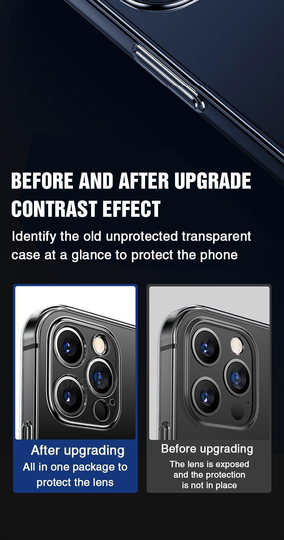 He8fc340a2cc64db69ca56f08ce3d5a72y Capinha celular iphone case Proteção da lente da câmera clara caixa do telefone para o iphone 12 pro max silicone macio capa para o iphone 12 mini à prova de choque capa traseira presente