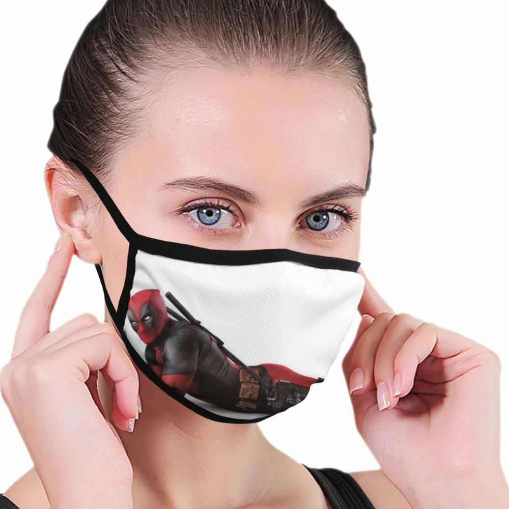 Mouth Mask Windproof Mouth-muffle Bacteria Proof Flu Face Masks Mouth Care 3d Print Rick And Morty Anime Kpop Lucky Bear Woman