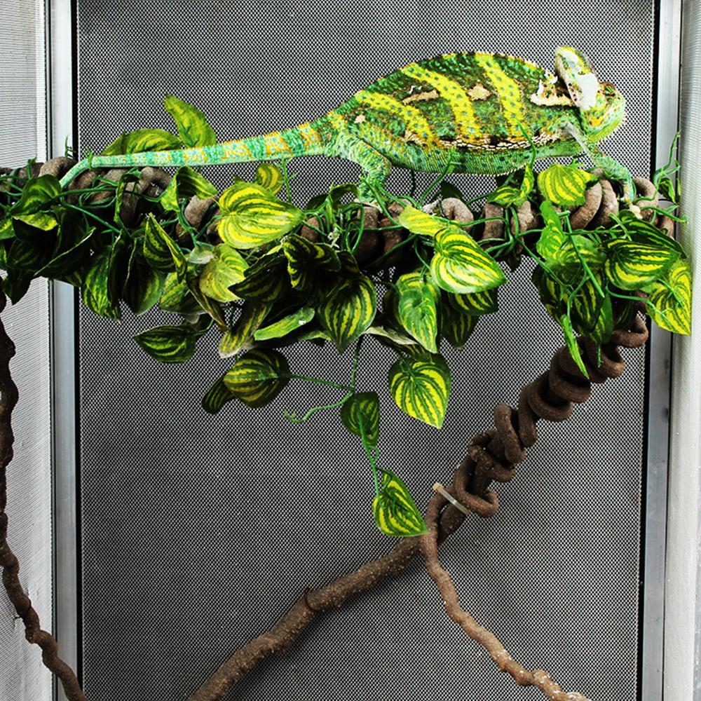 Reptiles Supplies Jungle Vines Flexible Bendable Jungle Reptile Pet Supplies Reptiles Terrarium Decor Accessories