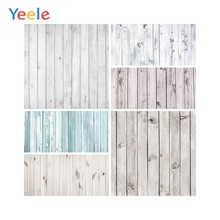 Yeele Gray Planks Wooden Board Texture Pet Food Doll Portrait Photography Backgrounds Photo Backdrops Photocall Photo Studio(China)