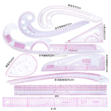 9 個縫製フレンチカーブ定規測定洋裁テーラー描画テンプレートクラフトツールセット
