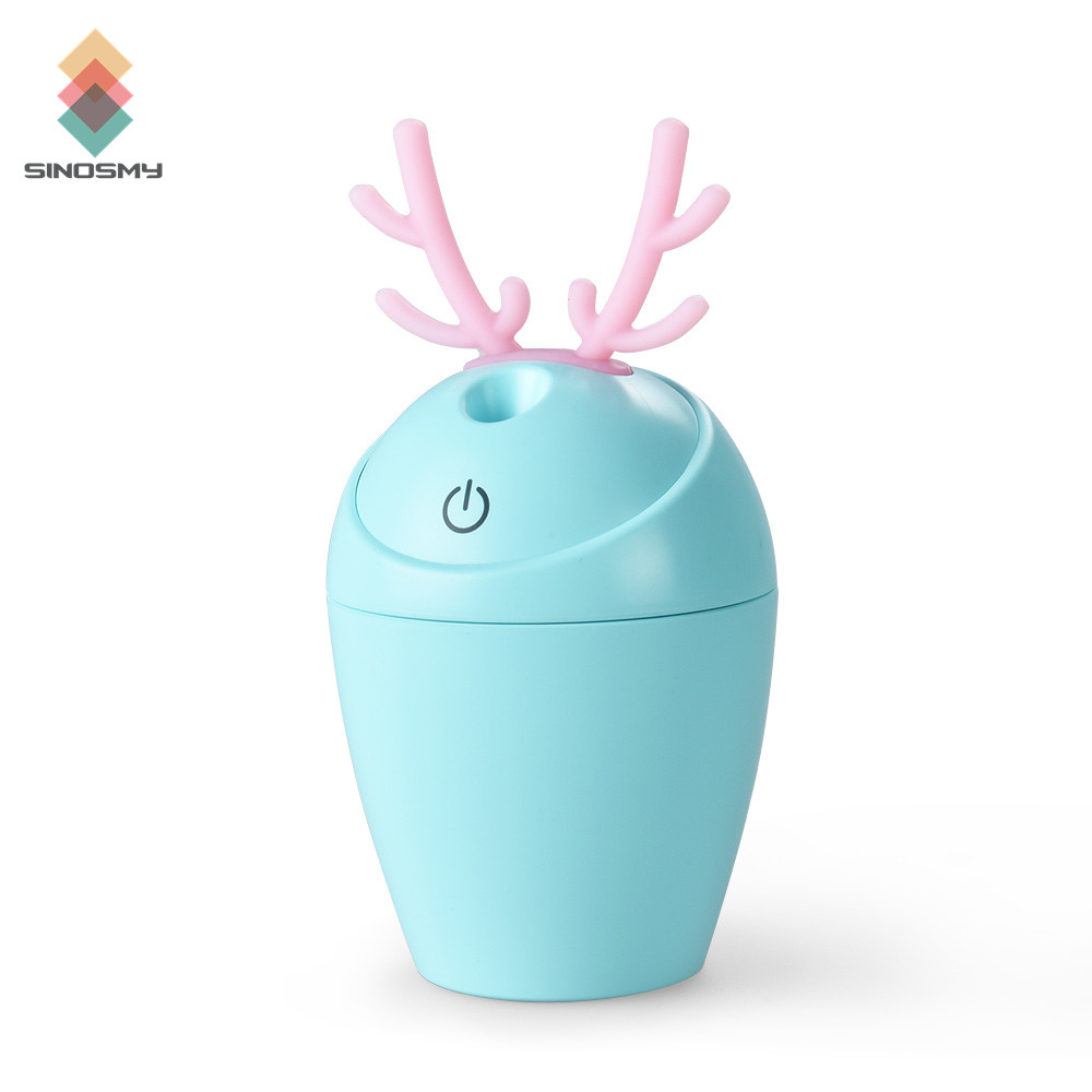 CE Rohs Certificate Mini Portable USB Rechargeable Mister Mist Humidifier For Dry Skin image