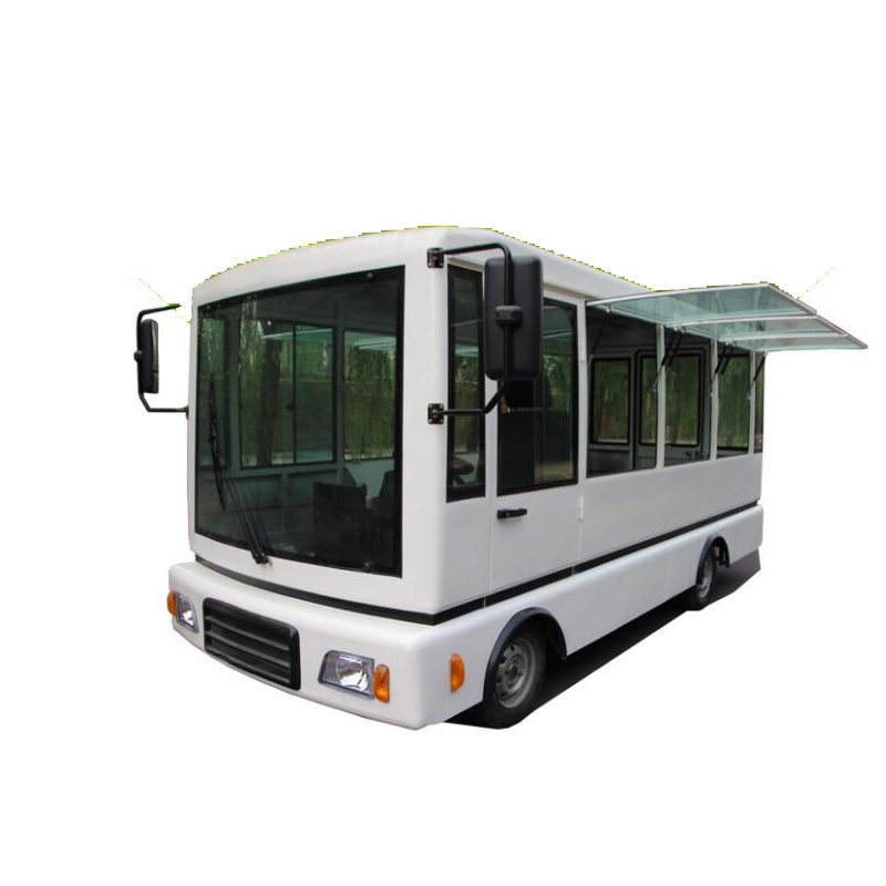 Japanese Customer Ordered Customized Size 5m Long Mobile Food Cart Mini Bus Food Truck For Sale