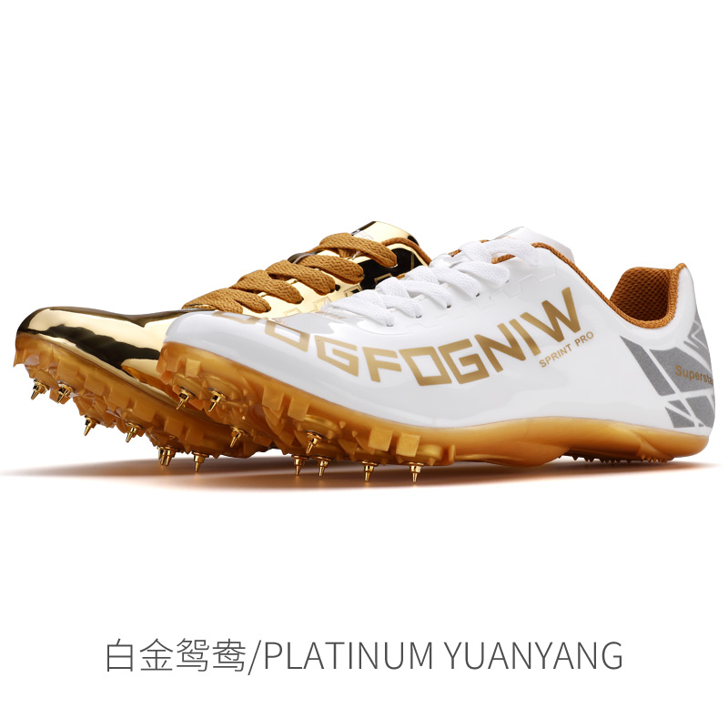 Wing Of God Men Women Track And Field Shoes Track Spike Running Shoes Lightweight Soft Comfortable Professional Athletic Shoes