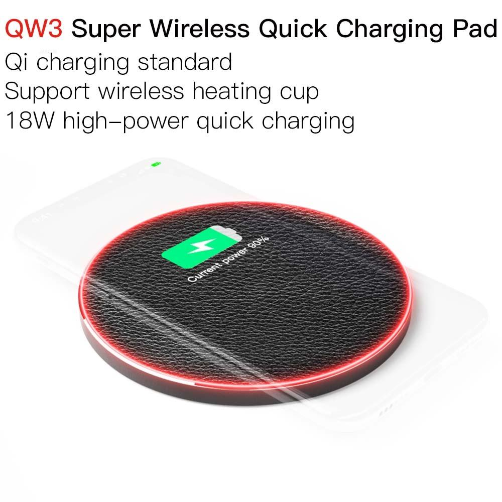 JAKCOM QW3 Super Wireless Quick Charging Pad Best gift with realme 6 cargador wireless charger car 9 pro find x image