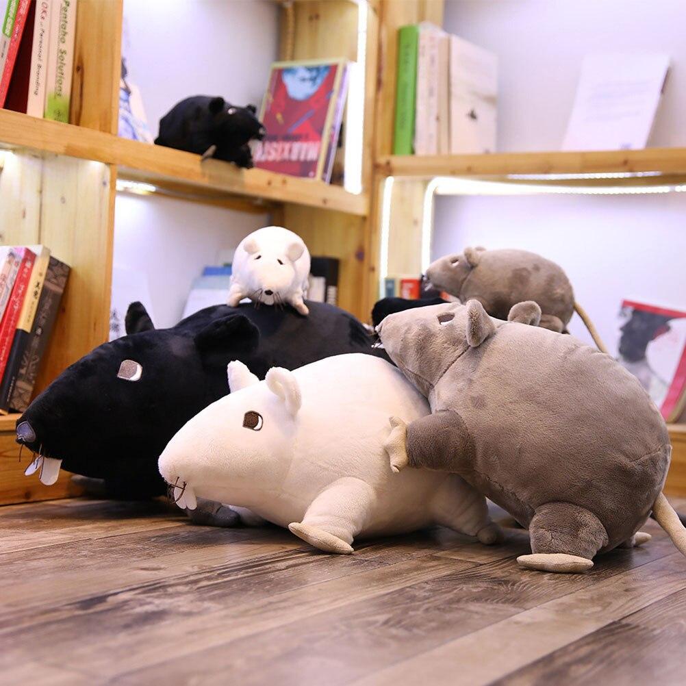 20 см Новая миниатюрная мягкая плюшевая имитация мыши, плюшевая кукла, плюшевая крыса, игрушка в виде животного, талисман, кукла Мышка для дет...