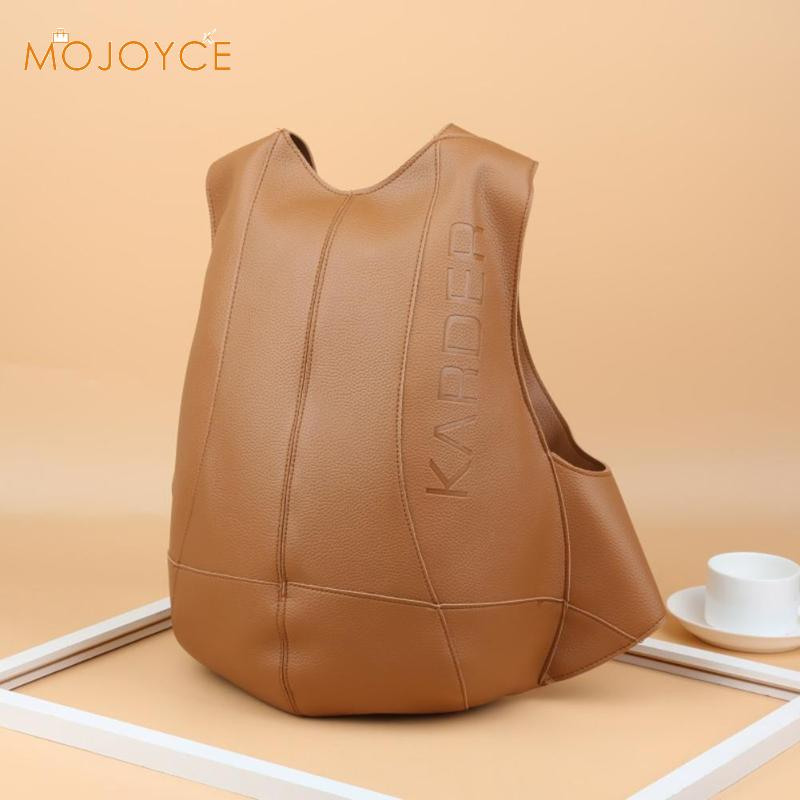 Moda anti roubo mochila feminina bagpack de couro masculino sacos de viagem mochila do vintage dropshipping