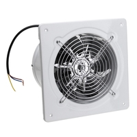 Promotion! 4 Inch 20W 220V High Speed Exhaust Fan Toilet Kitchen Bathroom Hanging Wall Window Glass Small Ventilator Extractor E