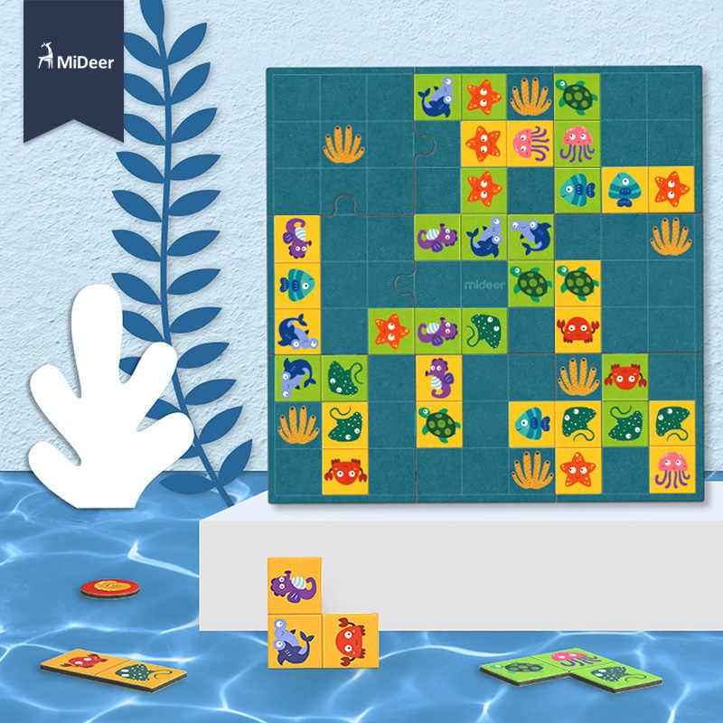 MiDeer Giocattoli Del Bambino Oceano Avventura Puzzle Scoperta Fun Art Desktop Solitaire Giochi Educativi Giocattoli per il Regalo Dei Bambini