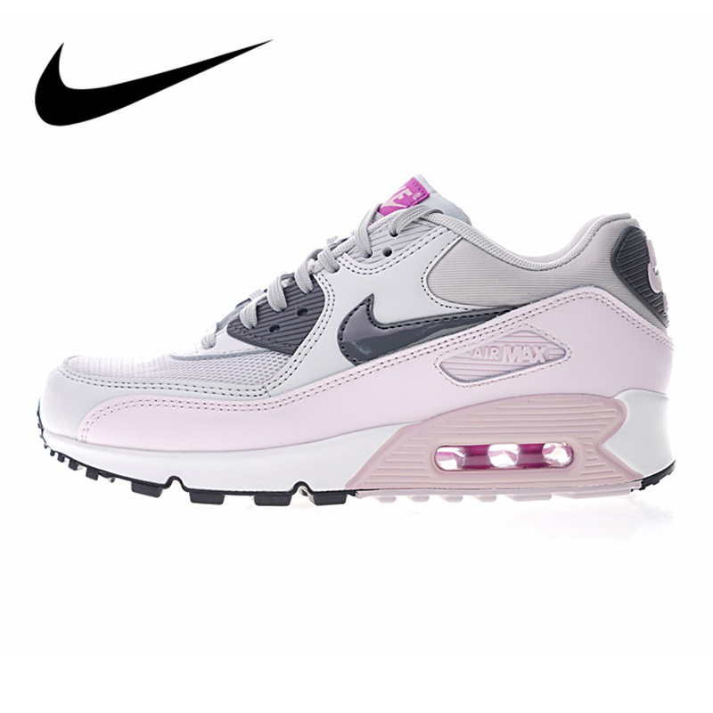 Original Authentic Nike AIR MAX 90 ESSENTIAL Sport Women's Running Shoes Outdoor Sports Athletic New Designer Footwear 616730