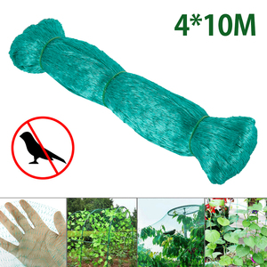 10X4M Bird Net Catcher Netting Pond Net Nylon Fishnet Fly Birds Traps Hunting Agriculture Tools Crops Fruit Tree Garden Protect