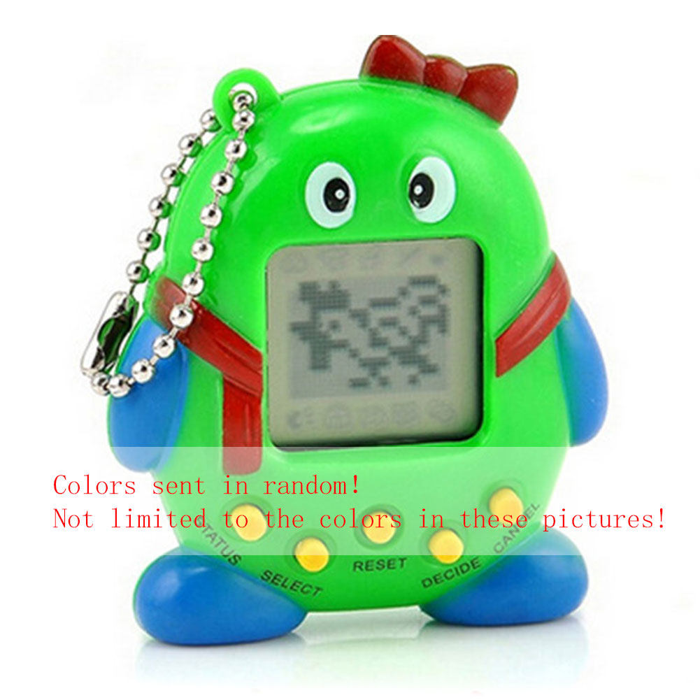 Virtual Cyber 168 Digital Pets Electronic Toy Handheld Game Child Keychain Gift