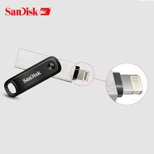 Image 2 - SanDisk usb 3.0 Nova Maçã Do Telefone Móvel U Disco 128GB Pen Drive de Memória Flash de Metal 256GB USB Fiash drives de Computador/iphone/ipad