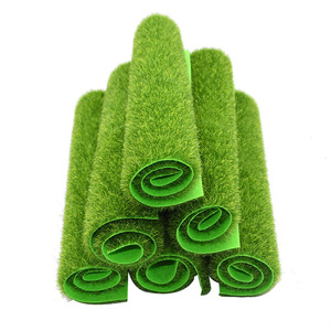 Image 4 - Artificial Moss Turf Lawns Green Plants DIY Micro Landscape Decoration Fake Grass Lawn for Home Mini Garden Floor Accessories