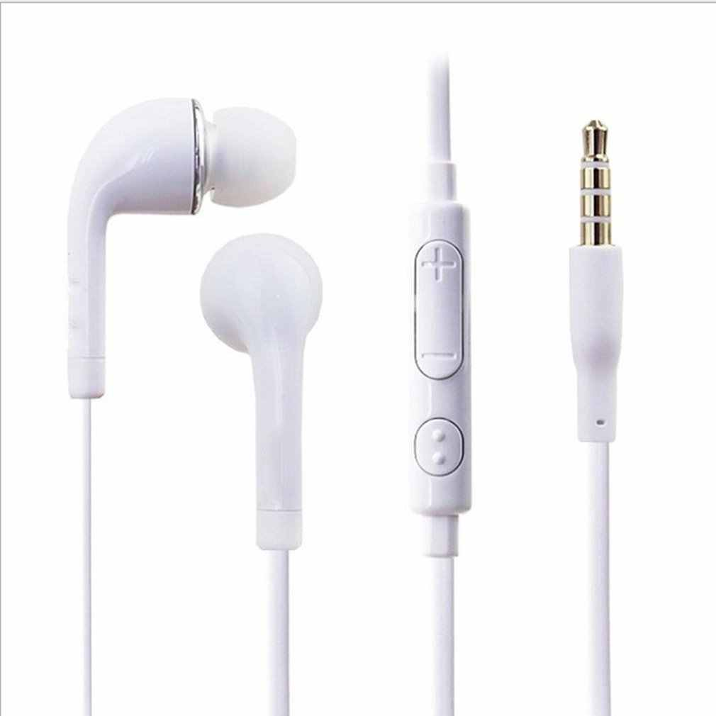 3.5 Mm Wired In-Ear Earphone Earbud Headset dengan MIC untuk Samsung Galaxy S3 SIII I9300 NI5 Smartphone Tinggi kualitas Headphone