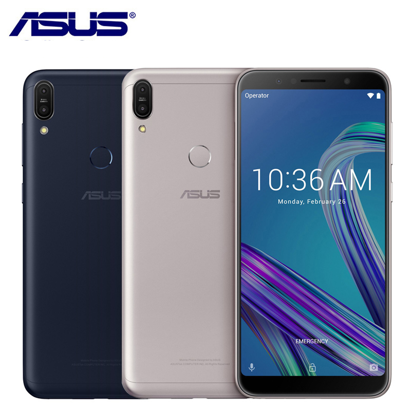 ASUS Snapdragon 636 Zenfone Max-Pro M1 64GB 6GB LTE Octa Core Fingerprint Recognition
