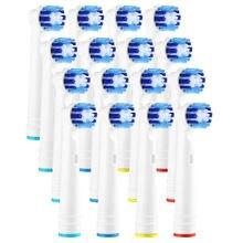 16 шт Электрический Зубная щётка головки generic замены совместим