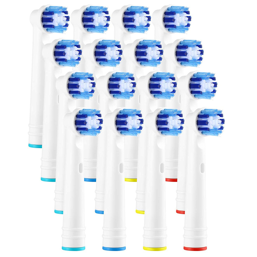 16pcs Electric Toothbrush Heads Generic Replacements Compatible with Braun Oral B - Brand New Clean Toothbrush Heads image