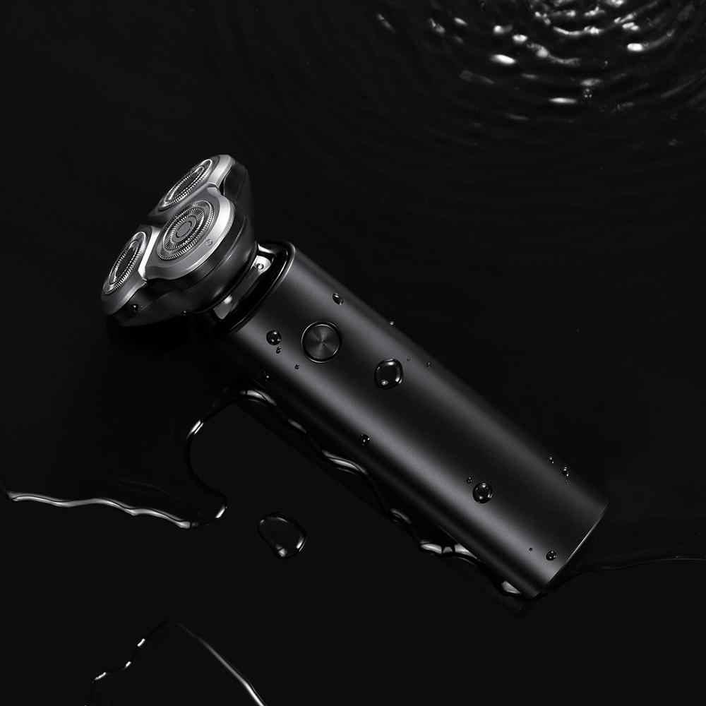 XIAOMI MIJIA חשמלי מכונת גילוח S500 נייד להגמיש גילוח 3 ראש יבש רטוב גילוח רחיץ זקן גוזם trimer אינטליגנטי נמוך רעש