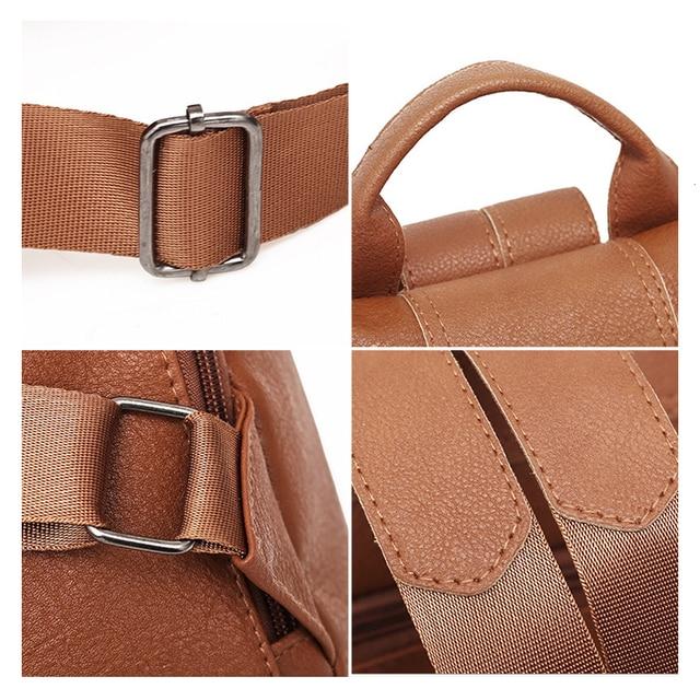 Модный женский рюкзачок с защитой от кражи содержимого 5