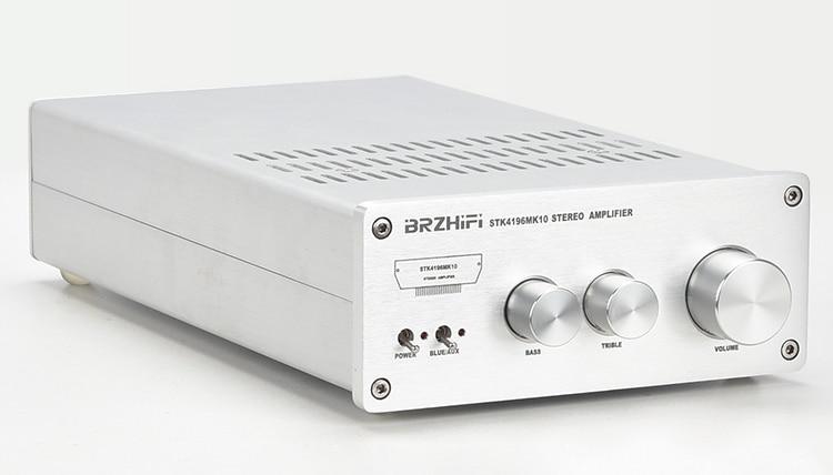 Breeze BRZHIFI New Sanyo Thick Film STK4196MK10 Bluetooth 5.0HIFI Fever Amplifier