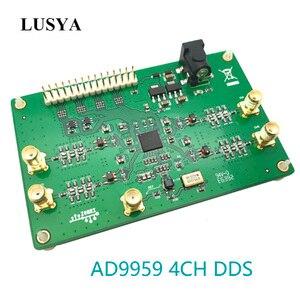 Lusya AD9959 four-channel high-speed DDS signal generation module RF signal source 200MHz balun output T0876(China)