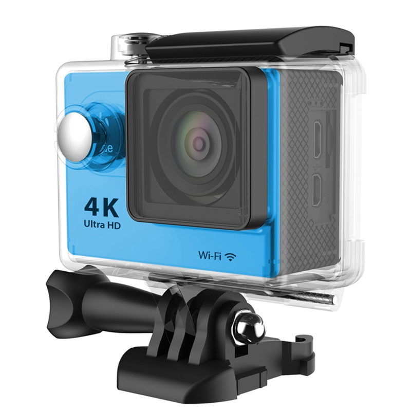 H9R Wifi <font><b>Camera</b></font> 1080P Ultra 4K Sport <font><b>Action</b></font> Waterproof Travel Camcorder Blue image