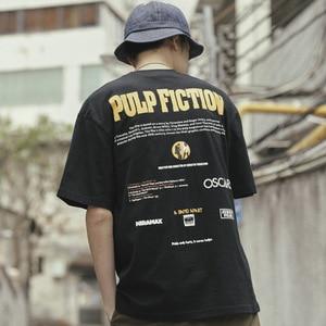 Image 4 - New Quentin Tarantino T Shirt Men Women Print 100 Cotton Japan Harajuku Hip Hop T Shirts Streetwear Tee Top tshirt Man
