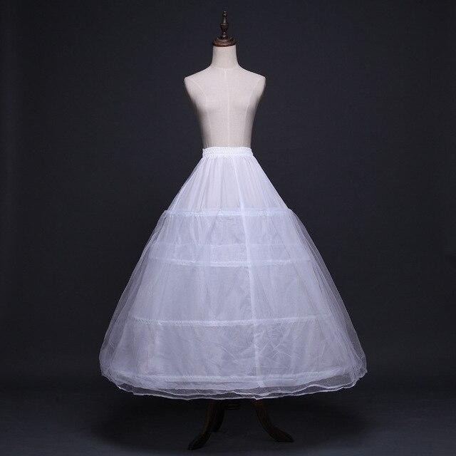 2020 כלה אביזרי חתונה תחתונית תחתוניות 4 חישוקי קרינולינה תחתוניות כדור שמלת חתונת שמלות Jupon זול