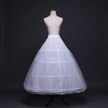2020 akcesoria dla nowożeńców ślub halka podkoszulek 4 obręcze krynoliny halki do sukni balowej suknie ślubne Jupon tanie
