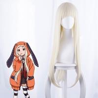 Anime Kakegurui Zwanghaften Gambler Cosplay Perücken Runa Yomozuki Cosplay Perücken Hitze Beständig Synthetische Halloween Party Perücke + Perücke Kappe