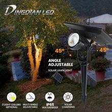 Солнечный фонарь для газона водонепроницаемый садовый светодиодный