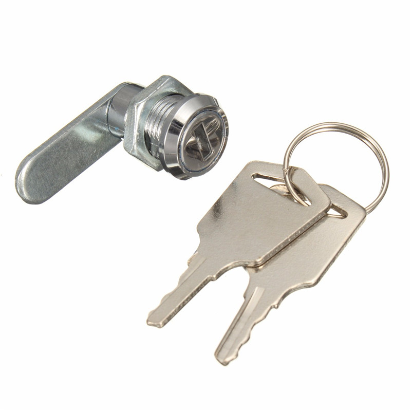 Cam Cylinder Locks Door Cabinet Mailbox Drawer Cupboard Locker Security Furniture Locks With 2 Keys Hardware