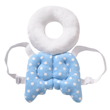 Baby Head Protection Pad Toddler Headrest Pillow Baby Neck Cute Wings Nursing Drop Resistance Cushion Baby Protect Cushion 1