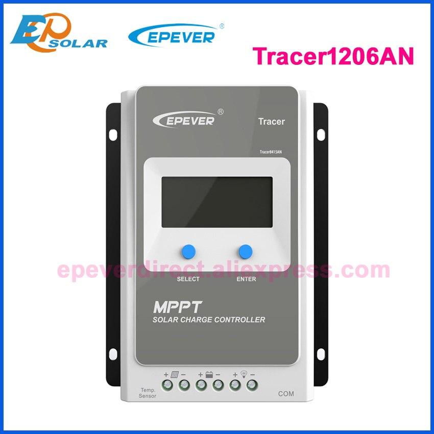 Tracer 1210AN 2210AN 3210AN 4210AN 10A 20A 30A 40A MPPT Контроллер заряда для фотоэлектрических систем 1210A 2210A 3210A 4210A ЖК-дисплей EPEVER регулятором солнечного заряда r - Цвет: Only 1206AN