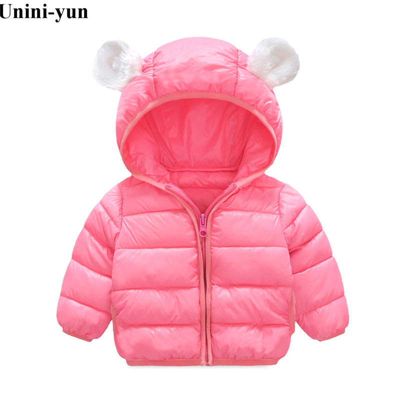 Boys Warm Parkas Kids Casual Thick Outerwear Baby Girls Children Boys Coats Jacket Fashion Hoodies Clothes Girls Winter Coat