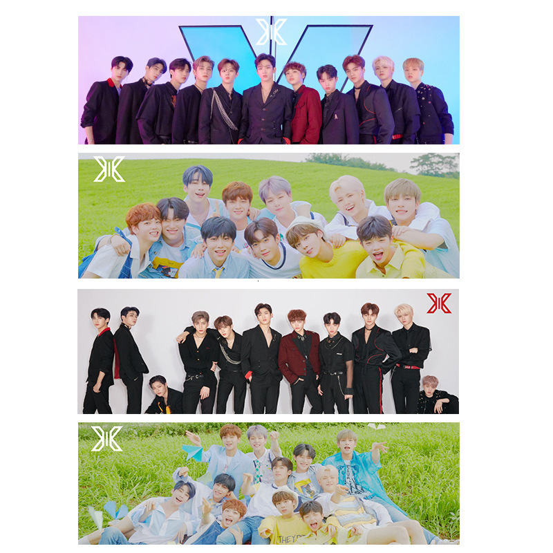Kpop X1 Combination X ONE Produce× 101 KPOP Photo Poster Album Same Paragraph Aid Hand Width Banner Hand Pieces Periphery