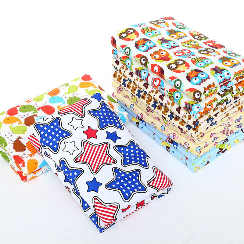 60*80cm Cartoon Mattresses Waterproof Changing Mat Thickened Quilted Soft Bed Covers For Cama Infantil Living Area Baby Products