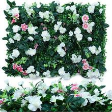 Mata sztucznej trawy dywan ogród dekoracja balkonowa ozdoby do domu zbiornik sztuczna trawa trawnik ogród trawa ściana tanie tanio CN (pochodzenie) Wiszące Z tworzywa sztucznego Grass 40cmx60cm