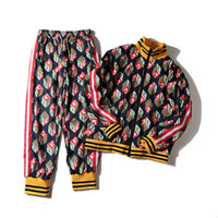Tracksuit Men Set Casual Hip Hop Track Suits Sweatshirt Sportswear 2 Two Piece Set Sports Suits Brand 2020 New Women Clothing