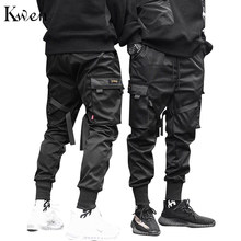 Harajuku Joggingbroek Dansen Broek Harem Broek Mannen Streetwear Punk Hip Hop Casual Broek Joggers De Mannen Multi-pocket(China)