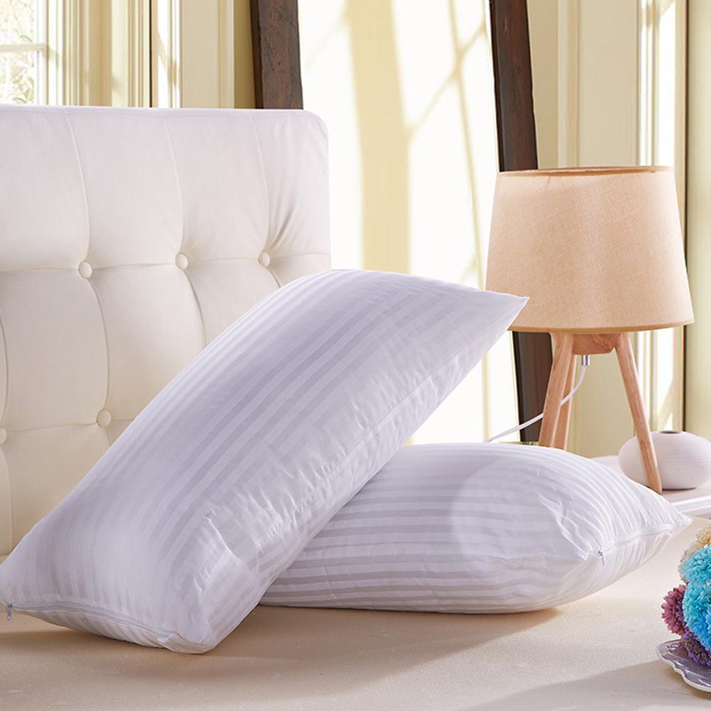 32  Fashion Hot Bedding Pillow Polyester Bed Hotel Collection Soft Comfortable Sleep Health For Sleeping