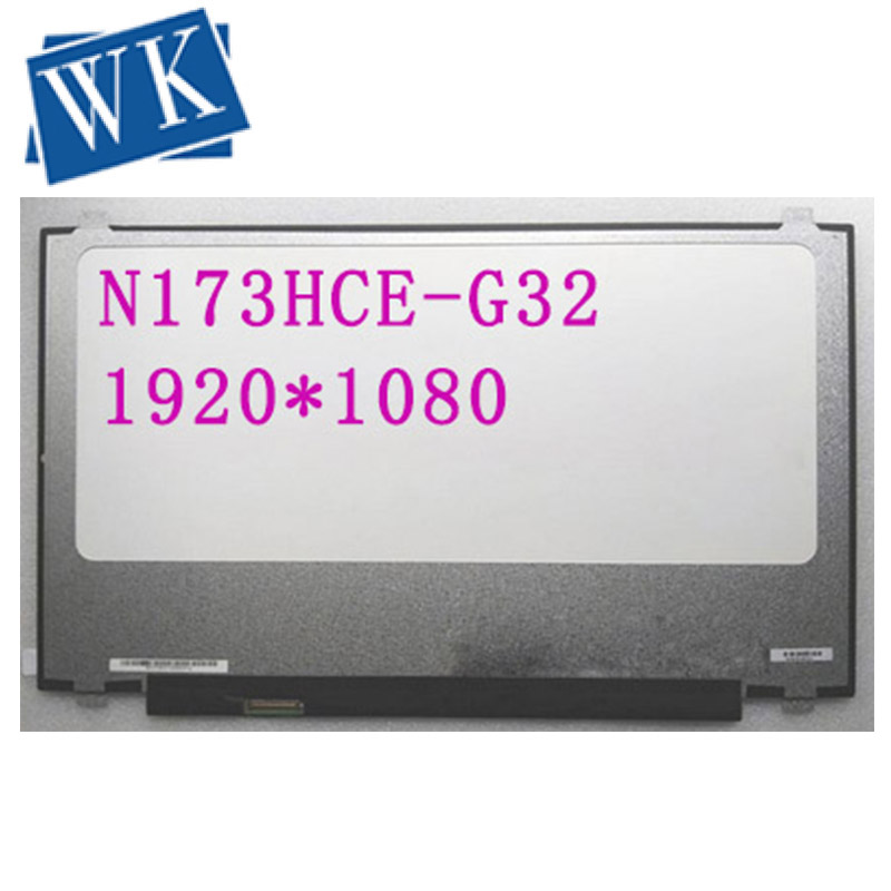 99% Color 120HZ FHD IPS Laptop Lcd Screen N173HCE-G32 FIT N173HHE-G32 B173QTN01.4 B173HAN01.4 B173HAN03.2 B173HAN03.1