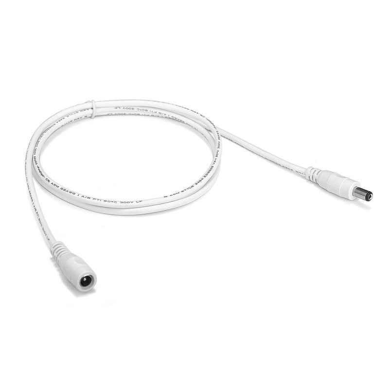 Led Strip 5V 12V Dc Power Kabel 5.5 Mm X 2.1 Mm 1 M 1.5 M 2 M elektrische Koperen Draden Plug Jack Verlengsnoer Voor Rounter Zonnepaneel