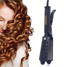 Flat Curling Iron Corrugation For Hair Curler Styling Tools Straightener Electric Heating Wave Crimper
