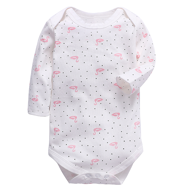 Babies Bodysuit Newborn Baby Clothing Long Sleeve 100% Cotton Lovely Printing 3-24 Months Infant Clothes