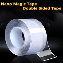 Adhesive-Tape Removable Easily Traceless Washable Not-Damage-Walls Multifunctional Double-Sided