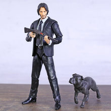 MAFEX 070 085 John Wick Keanu Reeves PVC figurine à collectionner modèle jouet(China)